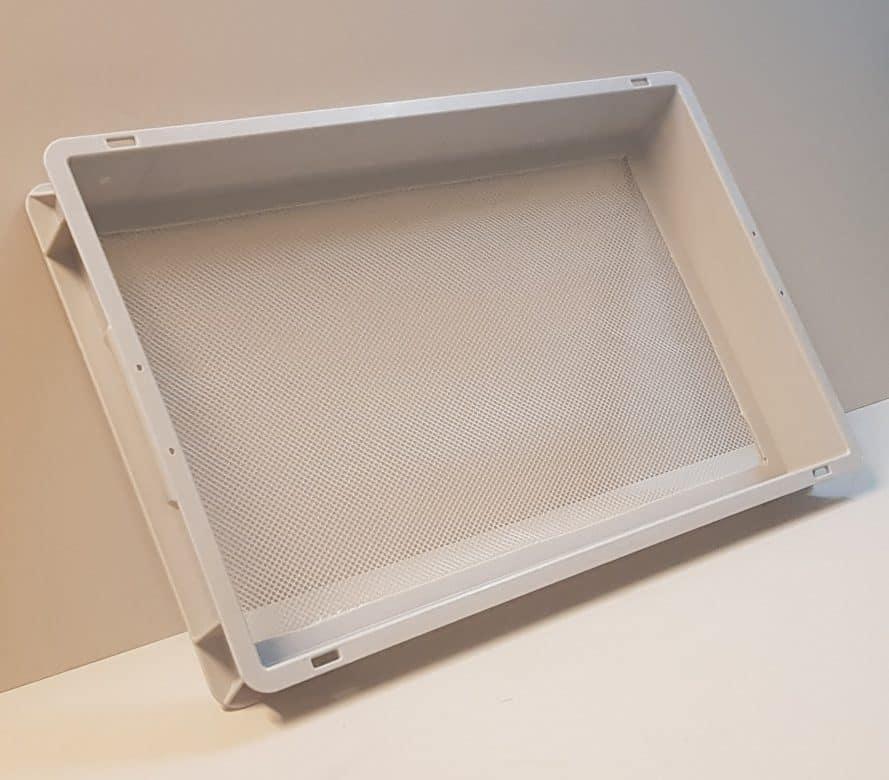 Mesh bottom PP crates (15 liters)