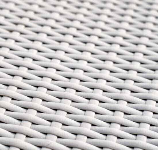 Woven plastic mesh