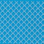 PP 6248 (PP80M) width: 1016 mm, mesh 4 x 4 mm. Length: 100 m., Thickness: 2 mm